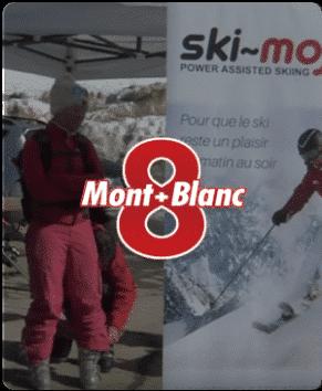8 Mont Blanc – Reportage Ski-Mojo France sur TV8 Montblanc
