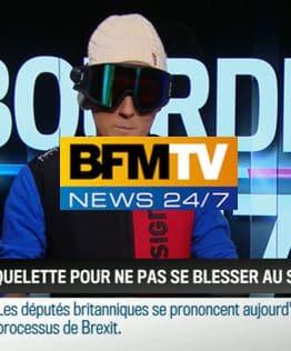 RMC-BFM – Les nouveaux équipements de sécurité de ski