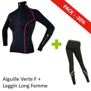 Pack Aiguille Verte Femme + Leggin long La Jalouvre